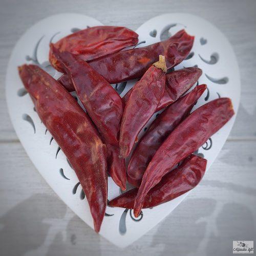 Chili egész 4-7 cm 250g