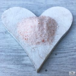 Himalayan pink fine-grained rock salt has a slightly sweet taste.