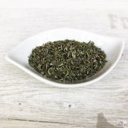 Dried thyme is also a great match for dishes made from minced meats.