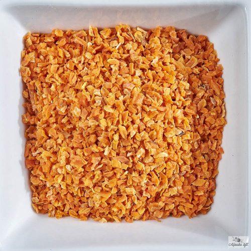 Carrot granulate
