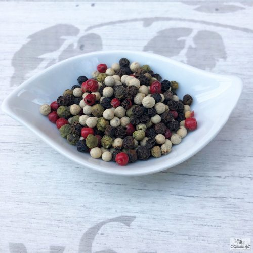 Mixed Colour pepper (black, white, green, pink) 250g