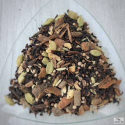 Chai tea -with Black tea leaves and spices