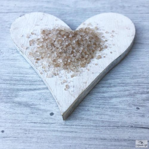 Smoked salt - coarse Dead-sea salt, Beech