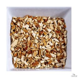 Orange zest is also available in a grated version with size of 4-8mm granules.