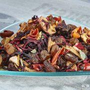 Bíborkajszi - Sárgabarack ízű gyümölcstea 1000g