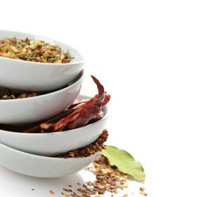 Chili karikák és szálak